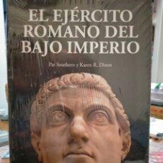 Libros: PAT SOUTHERN/KAREN R. DIXON. EL EJÉRCITO ROMANO DEL BAJO IMPERIO .DESPERTA FERRO. Lote 277541508