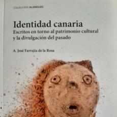 Libros: IDENTIDAD CANARIA. Lote 261685810