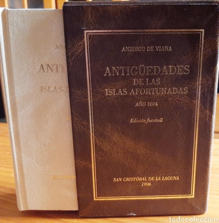 Libros: Antigüedades de las Islas Afortunadas Año 1604 - Foto 2 - 261691680