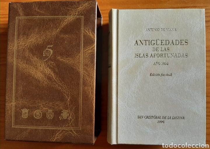 Libros: Antigüedades de las Islas Afortunadas Año 1604 - Foto 3 - 261691680