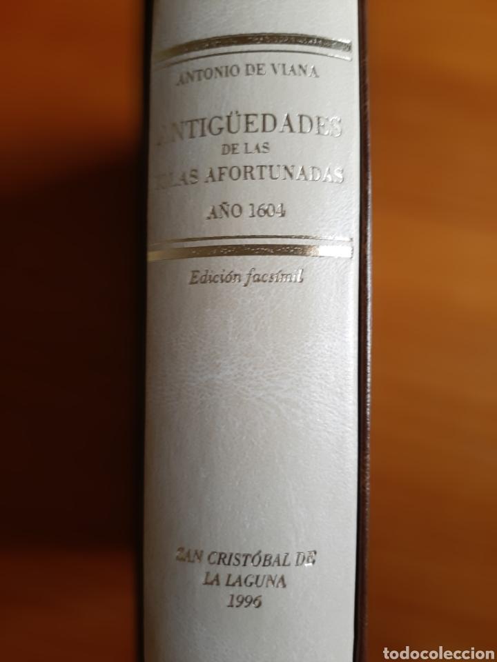 Libros: Antigüedades de las Islas Afortunadas Año 1604 - Foto 4 - 261691680