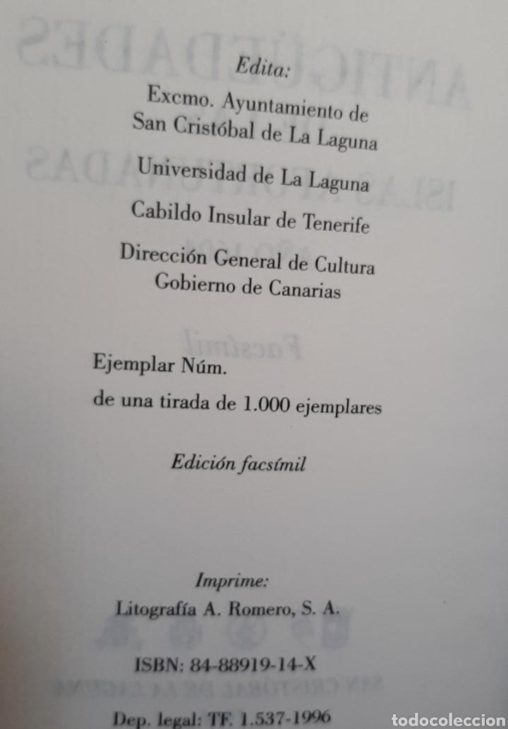 Libros: Antigüedades de las Islas Afortunadas Año 1604 - Foto 7 - 261691680
