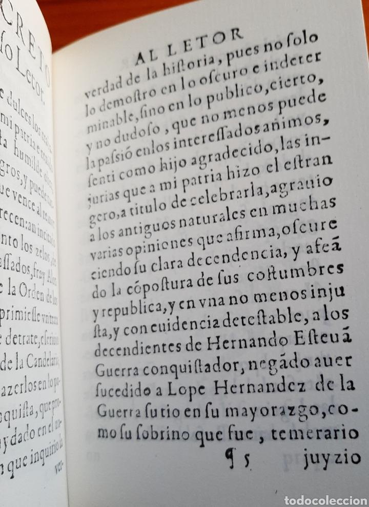 Libros: Antigüedades de las Islas Afortunadas Año 1604 - Foto 10 - 261691680