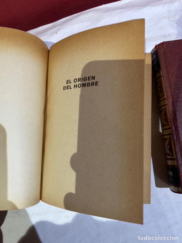 Libros: El origen del hombre de Darwin 1973.coleccion completa 2 tomos - Foto 4 - 262010945