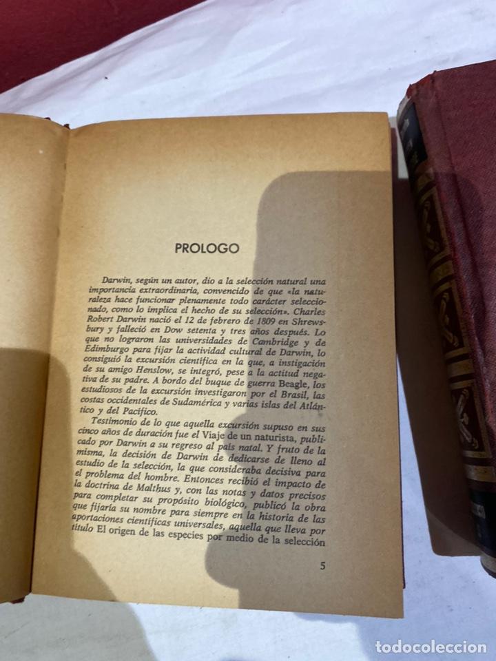 Libros: El origen del hombre de Darwin 1973.coleccion completa 2 tomos - Foto 6 - 262010945