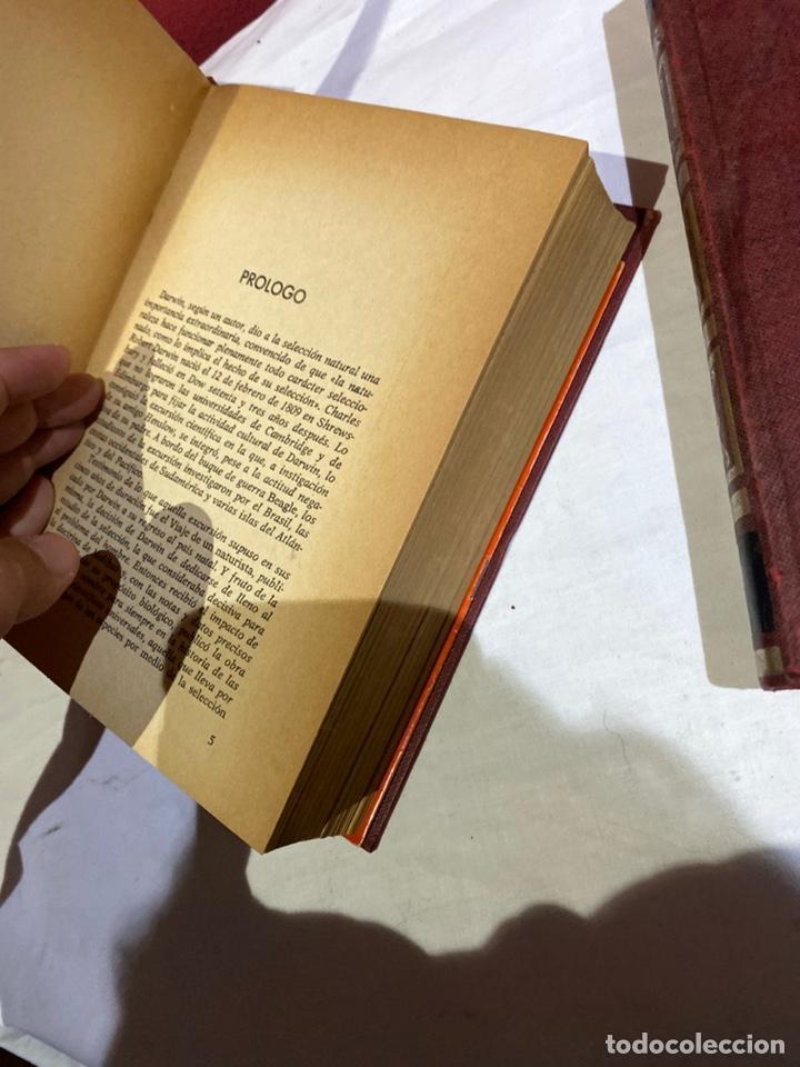 Libros: El origen del hombre de Darwin 1973.coleccion completa 2 tomos - Foto 7 - 262010945