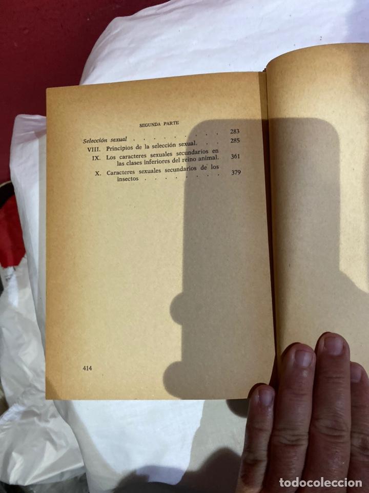 Libros: El origen del hombre de Darwin 1973.coleccion completa 2 tomos - Foto 8 - 262010945