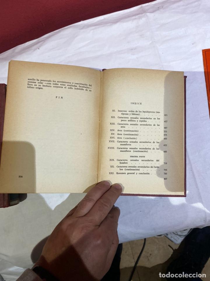 Libros: El origen del hombre de Darwin 1973.coleccion completa 2 tomos - Foto 14 - 262010945