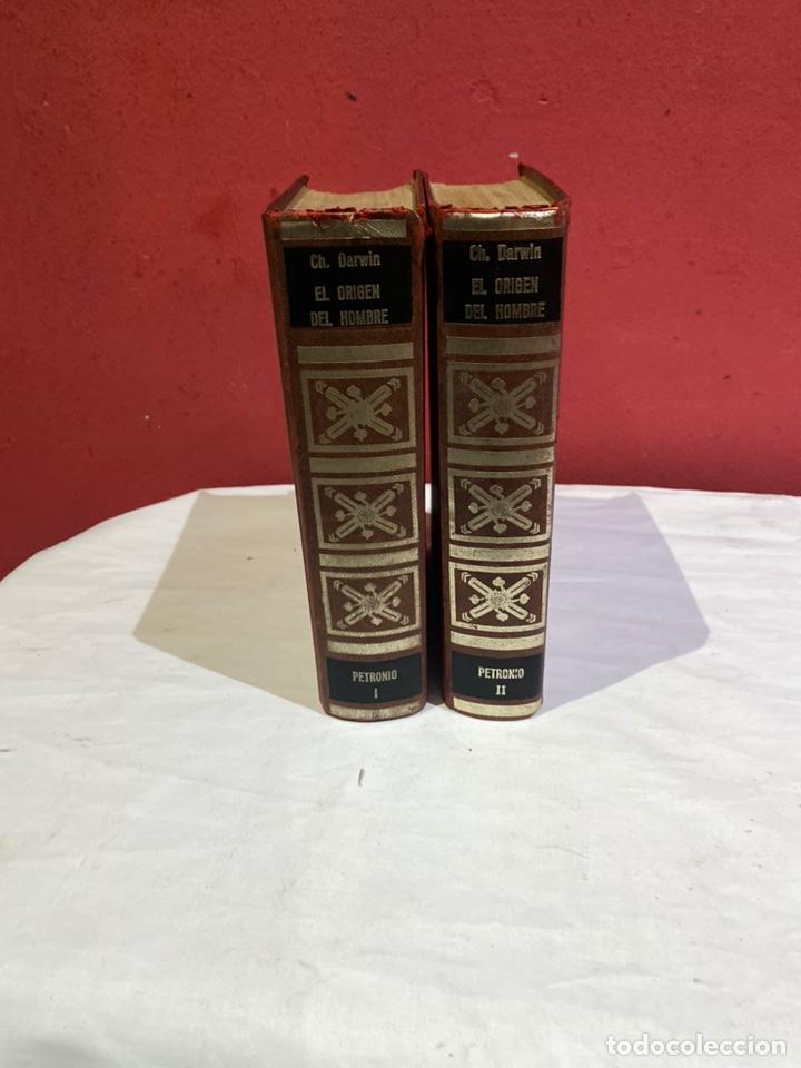 EL ORIGEN DEL HOMBRE DE DARWIN 1973.COLECCION COMPLETA 2 TOMOS (Libros Nuevos - Historia - Historia Antigua)