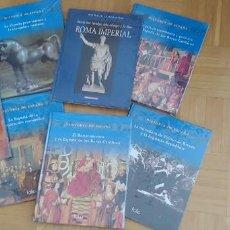Libros: LOTE DE 7 LIBROS,HISTORIA DE ESPAÑA.EDICIONES FOLIO.TAPA DURA,NUEVOS,PRECINTADOS.. Lote 263662490