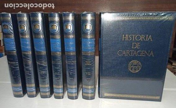 HISTORIA DE CARTAGENA INCOMPLETA 7 TOMOS DE 8 - TAMBIÉN SE VENDEN SUELTOS- NUEVOS DE LIBRERÍA. (Libros Nuevos - Historia - Historia Antigua)