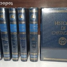 Libros: HISTORIA DE CARTAGENA INCOMPLETA 7 TOMOS DE 8 - TAMBIÉN SE VENDEN SUELTOS- NUEVOS DE LIBRERÍA.. Lote 266036558