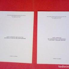 Libros: ANDRES NICAS MORENO.-IZNATORAF.-VILLANUEVA DEL ARZOBISPO.-HISTORIA.-INSTITUTO ESTUDIOS GIENNENSES.. Lote 269010579