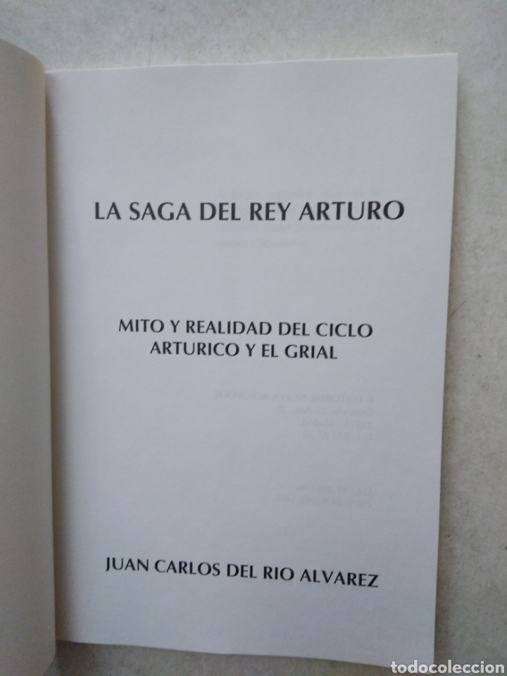 Libros: La saga del Rey Arturo, mito y realidad del ciclo arturico y el grial - Foto 3 - 269271988