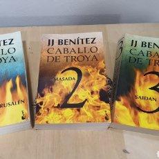 "Libros: COLECCION DE 3 LIBROS ""CABALLO DE TROYA"". Lote 270151248"