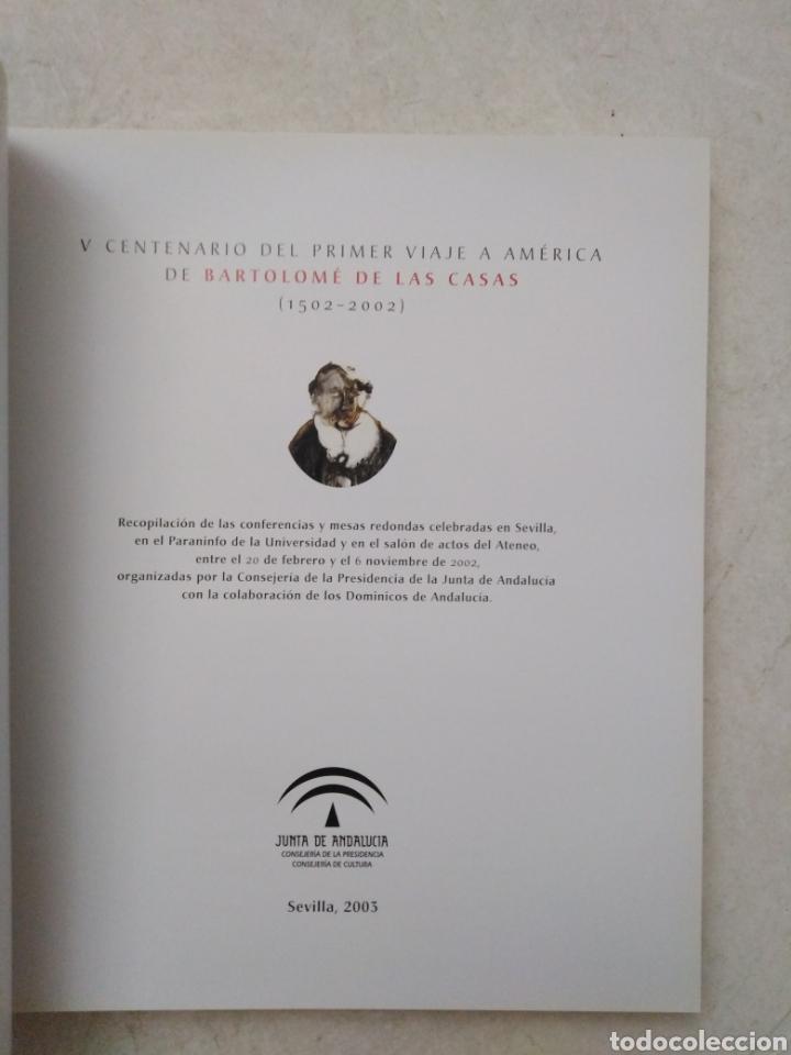 Libros: V centenario del primer viaje a América de Bartolome de las Casas - Foto 4 - 270248598