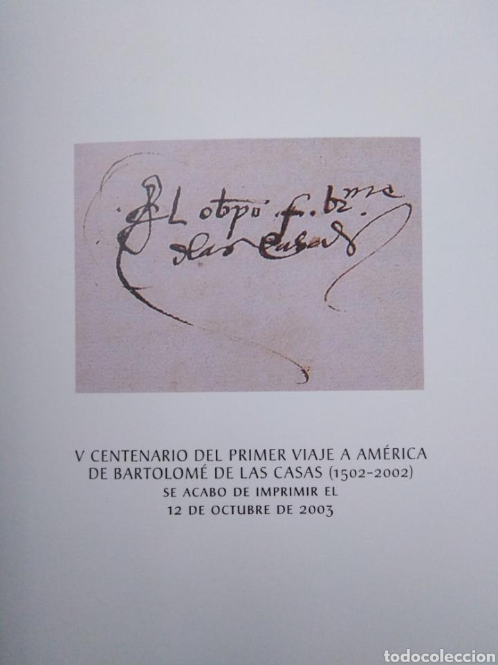 Libros: V centenario del primer viaje a América de Bartolome de las Casas - Foto 5 - 270248598