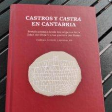 Libri: LIBRO CASTROS Y CASTRAS EN CANTABRIA. Lote 272271503