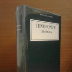 Libros: JENOFONTE - CIROPEDIA - BIBLIOTECA CLÁSICA GREDOS Nº 21 - 2015 - PRECINTADO. Lote 277103188