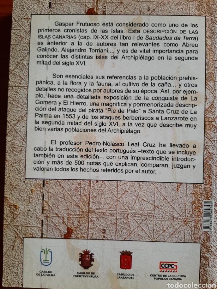 Libros: Descripción de las Islas Canarias - Foto 6 - 277171583
