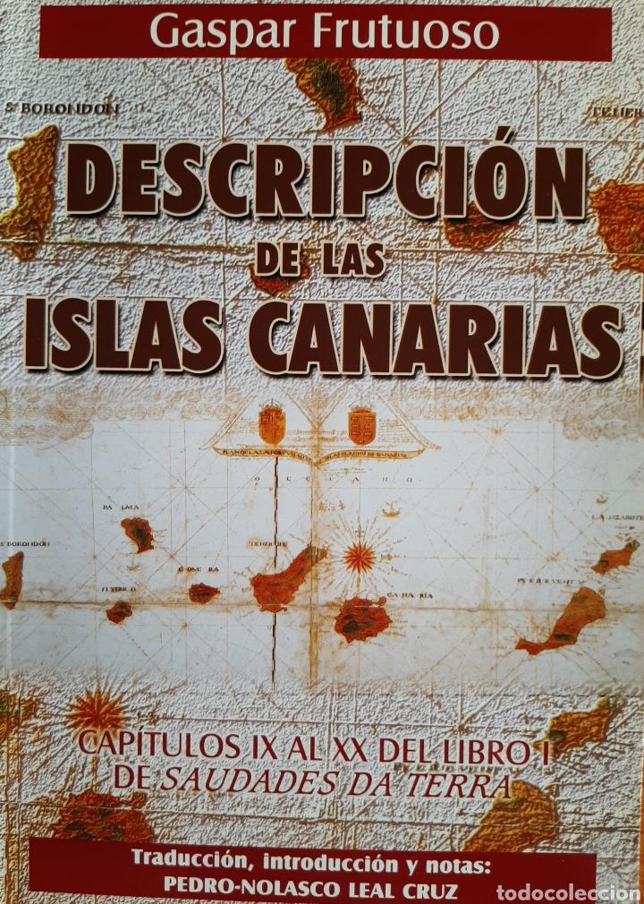 DESCRIPCIÓN DE LAS ISLAS CANARIAS (Libros Nuevos - Historia - Historia Antigua)