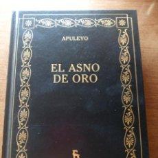 Libros: APULEYO. EL ASNO DE ORO. EDITORIAL GREDOS. Lote 277255518