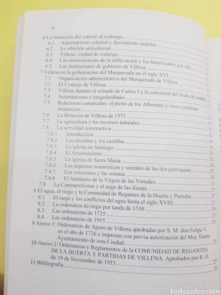 Libros: Historia de Villena hasta el siglo XVII ,2009 - Foto 4 - 277824533