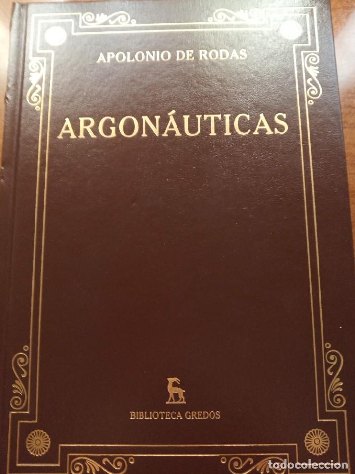 APOLONIO DE RODAS. ARGONAUTICAS. GREDOS (Libros Nuevos - Historia - Historia Antigua)