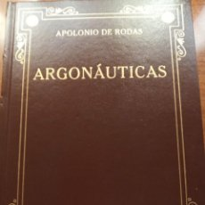 Libros: APOLONIO DE RODAS. ARGONAUTICAS. GREDOS. Lote 278271108