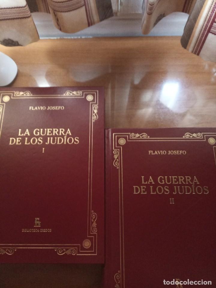 FLAVIO JOSEFO. LA GUERRA DE LOS JUDÍOS. GREDOS (Libros Nuevos - Historia - Historia Antigua)