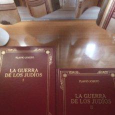 Libros: FLAVIO JOSEFO. LA GUERRA DE LOS JUDÍOS. GREDOS. Lote 278273923