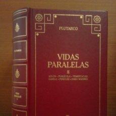 Libros: PLUTARCO - VIDAS PARALELAS II - BIBLIOTECA BÁSICA GREDOS Nº 85 - 2001. Lote 283094828