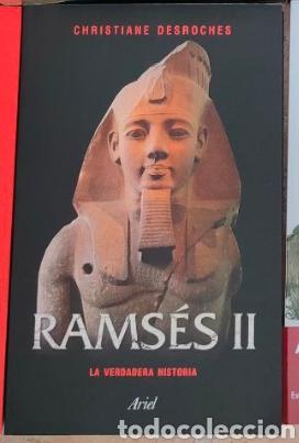 RAMSÉS II LA VERDADERA HISTORIA CHRISTIANE DESROCHES-NOBLECOURT ARIEL (Libros Nuevos - Historia - Historia Antigua)