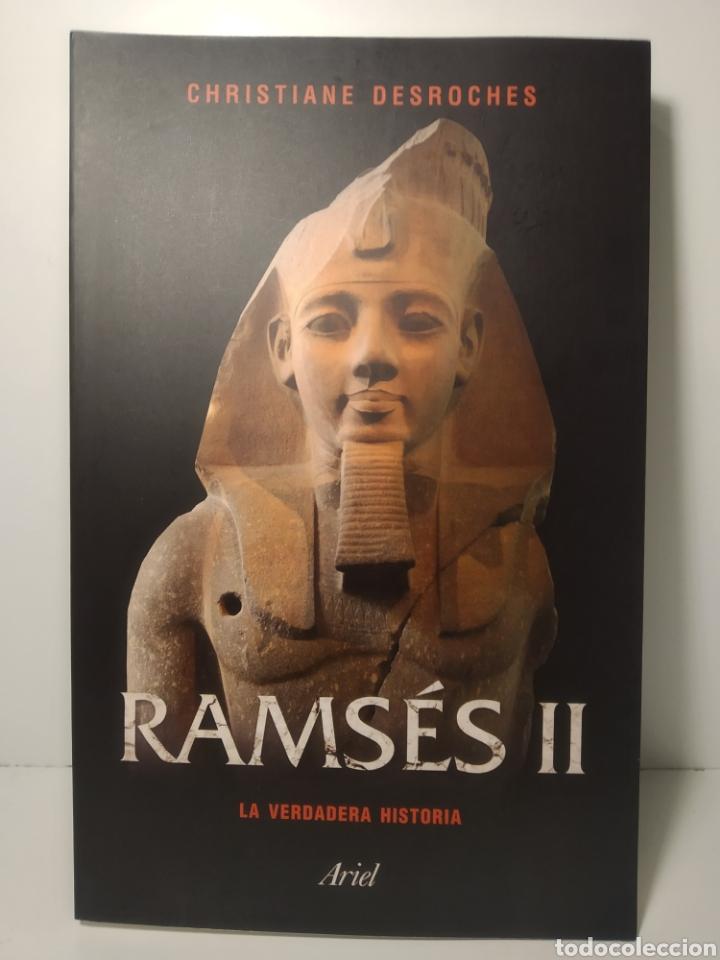 Libros: Ramsés II La verdadera historia Christiane Desroches-Noblecourt Ariel - Foto 3 - 285483868