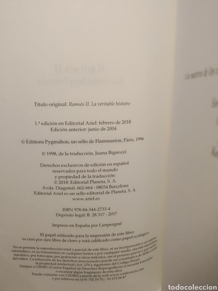 Libros: Ramsés II La verdadera historia Christiane Desroches-Noblecourt Ariel - Foto 5 - 285483868