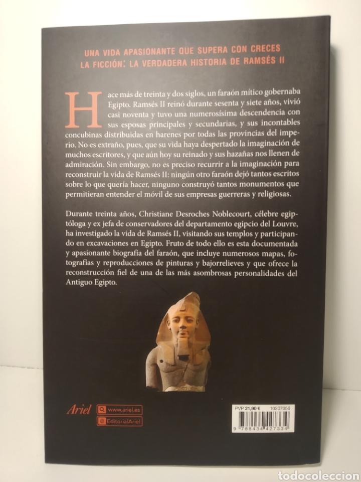 Libros: Ramsés II La verdadera historia Christiane Desroches-Noblecourt Ariel - Foto 6 - 285483868