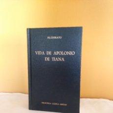 Libros: VIDA DE APOLONIO DE TIANA EDITORIAL GREDOS 1979. Lote 286940323