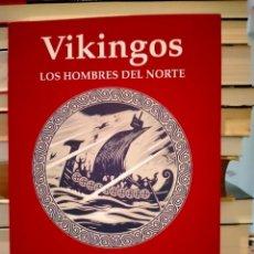 Libros: KIM HJARDAR. VIKINGOS .(LOS HOMBRES DEL NORTE). EDHASA. Lote 287801373