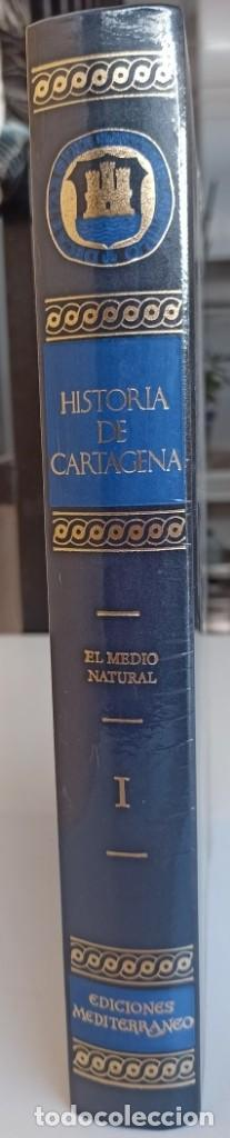 Libros: HISTORIA DE CARTAGENA TOMO Nº 1 - NUEVO DE LIBRERÍA. - Foto 2 - 288371068