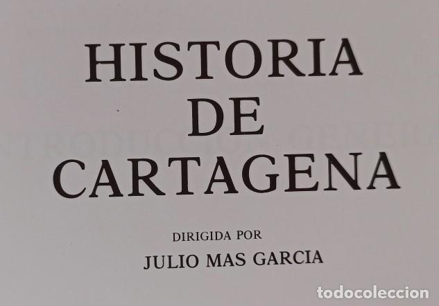 Libros: HISTORIA DE CARTAGENA TOMO Nº 1 - NUEVO DE LIBRERÍA. - Foto 6 - 288371068