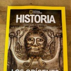 Libros: EXTRA HISTORIA NATIONAL GEOGRAPHIC LOS ORIGENES DE EUROPA - NUEVO. Lote 289480993