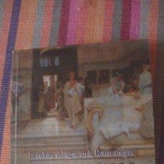 Libros: LOS ROMANOS Y EL AGUA : LA CULTURA DEL AGUA EN LA ROMA ANTIGUA. MALISSARD, ALAIN. HERDER, 2001. Lote 291836778
