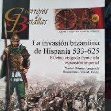 Libros: LA INVASIÓN BIZANTINA DE HISPANIA (533-625). D. GÓMEZ ARAGONÉS. Lote 292033173