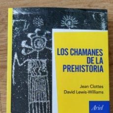 Libri: LOS CHAMANES DE LA PREHISTORIA. Lote 294022468