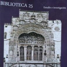 Libros: EL DUERO ORIENTAL EN LA EDAD MEDIA.. Lote 296940573