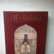 Libros: LIBRO AL- ANDALUS LAS ARTES ISLÁMICAS EN ESPAÑA. EDICIONES EL VISO.. Lote 78350810