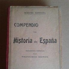 Libros: COMPENDIO DE HISTORIA DE ESPAÑA. Lote 78812157