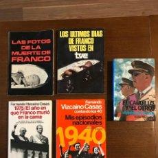Libros: SUPER LOTE 10 LIBROS DE FRANCO. Lote 95627263