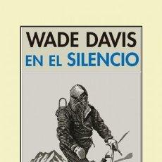 Libros: EN EL SILENCIO DAVIS, WADE PRE-TEXTOS, 2017 GASTOS DE ENVIO GRATIS. Lote 97332103