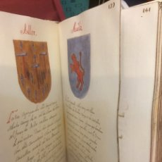 Libros: FACSÍMIL DELS LINAJES DELS NOBLES DE LA CIUTAT Y REYNE DE VALENCIA. Lote 100642471